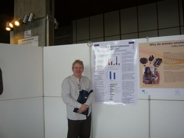 Society for Reproductive and Infant Psychology Conference, 2010. Leuven, Belgium.