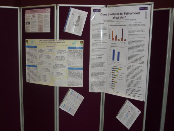 Two posters displayed at the Keele University Postgraduate Research Day, June 2015. The smaller landscape one is based on my PhD research and larger one is based on my MSc.